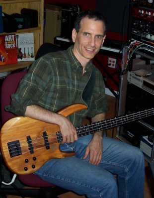 Recording Bass for Dennis Young